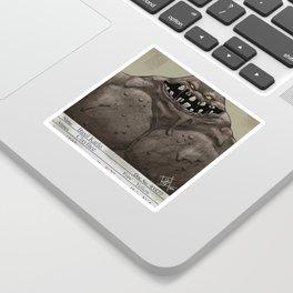 1930s Clayface Mugshot Sticker