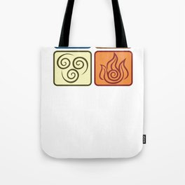 Louies Avatar Symbols Tote Bag