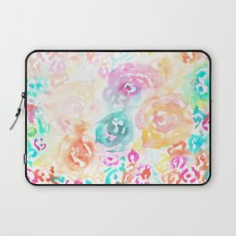 Abstract Floral I Laptop Sleeve