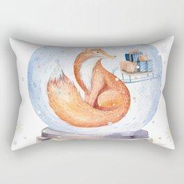 Christmas fox #1 Rectangular Pillow