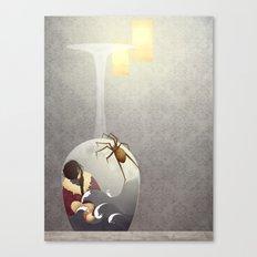 The Fear Canvas Print