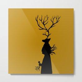 Deer Songs  Metal Print