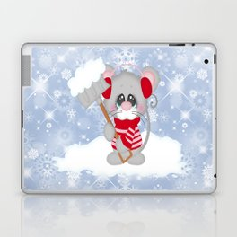 Time To Shovel Laptop & iPad Skin