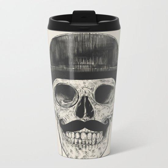 Gentlemen never die Metal Travel Mug