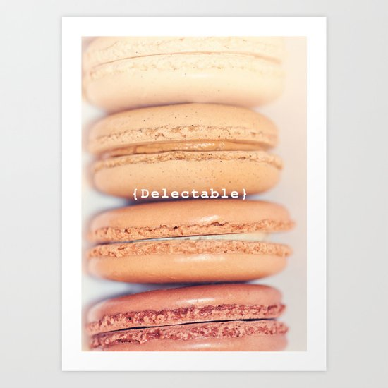 {Delectable} Art Print