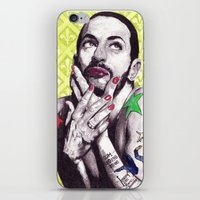 marc jacobs iPhone & iPod Skins featuring Marc Jacobs by Joseph Walrave