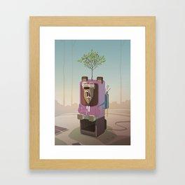 Woodwoodgood Bear Framed Art Print