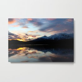 Dreamy Jasper Sunset Metal Print