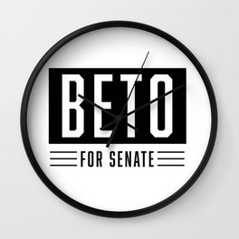 beto official logo Wall Clock