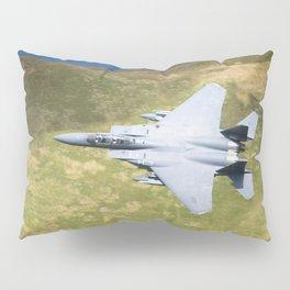 Low Flying F-15E Strike Eagle Pillow Sham