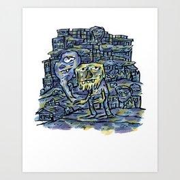Onward Toward Art Print