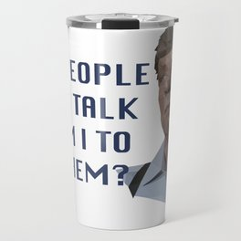 Joe Kenda - Guilty People Love to Talk Travel Mug