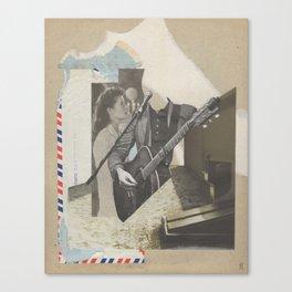 Love Letters Canvas Print
