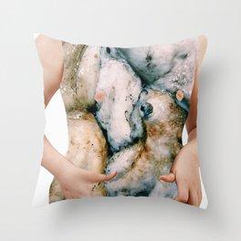 gli alienati Throw Pillow
