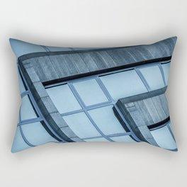 Abstract View of Modern Buildings Rectangular Pillow