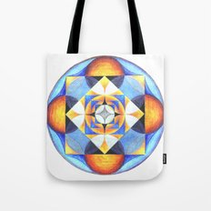 Solar Kaleidoscope (ANALOG zine) Tote Bag