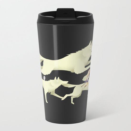 Princess Mononoke Metal Travel Mug
