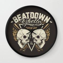 Beatdown Ghetto Wall Clock