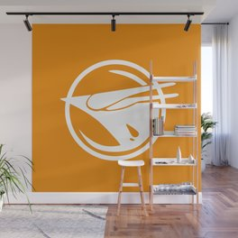 Rebel Phoenix orange Wall Mural