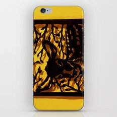 Sleeping Fawn Papercut iPhone & iPod Skin
