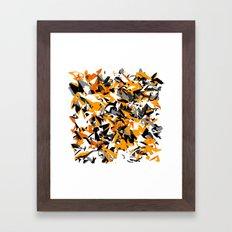 Burnt Framed Art Print