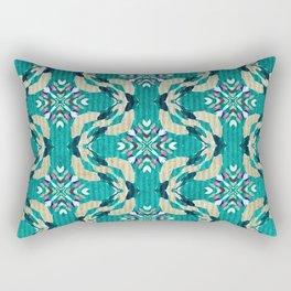 Borderline Rectangular Pillow