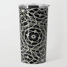 Polygons Pattern Print Travel Mug