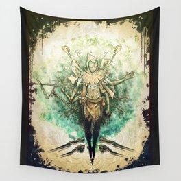 Voyager Spirits-Spirit of desicion Wall Tapestry