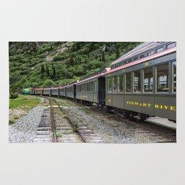 White Pass and Yukon Railroad Rug