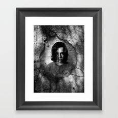 pot hole Framed Art Print
