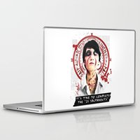 "silent hill Laptop & iPad Skins featuring Silent Hill - It's time to complete the ""21 Sacraments"" by Emme Gray"