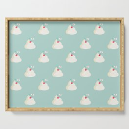 Cherry on top pattern Serving Tray