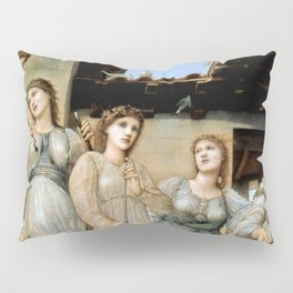 "Edward Burne-Jones ""The Golden Stairs"" Pillow Sham"