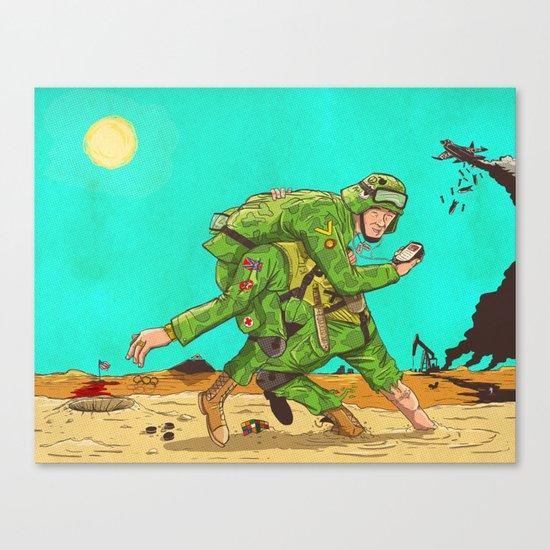 Carry Canvas Print