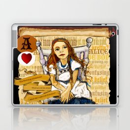 'Alice' (Alice in Steampunk Series) Laptop & iPad Skin