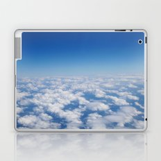 Blue Sky White Clouds Color Photography Laptop & iPad Skin