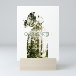 OUR EARTH Mini Art Print