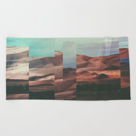 Fractions A62 Beach Towel