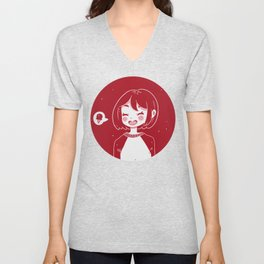 Cool girl Unisex V-Neck