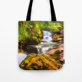 Swiss rapids. Tote Bag