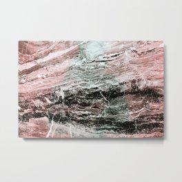 Marmor pattern Metal Print