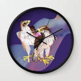 Totem Bonelli´s Eagle (GREFA) Ultraviolet Wall Clock