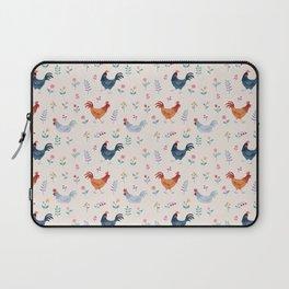 Little Hens (ivory) Laptop Sleeve