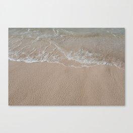 Seaside in Paia // Maui Canvas Print