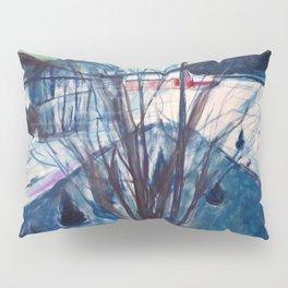 Winter Night, Ekely - Digital Remastered Edition Pillow Sham