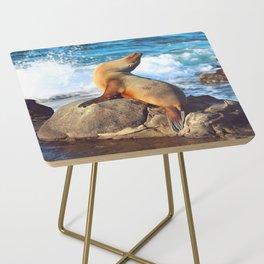 SeaLion Mermaid Side Table