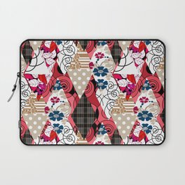 Colorful national patchwork of 12 Laptop Sleeve