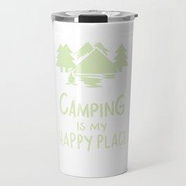 Camping Campfire Gifts Travel Mug