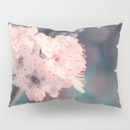 Delicate Strength (Spring White Cherry Blossom) Pillow Sham