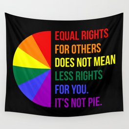 Equal Rights For Others Does Not Mean Less Rights For You II Wall Tapestry